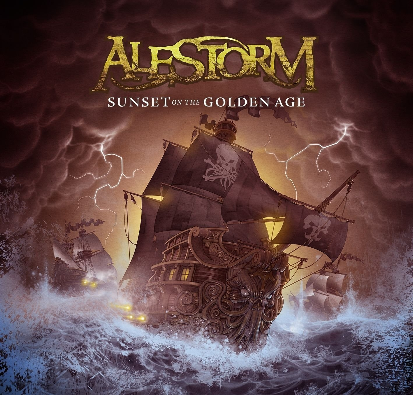 Alestorm — Sunset on the Golden Age (2014)