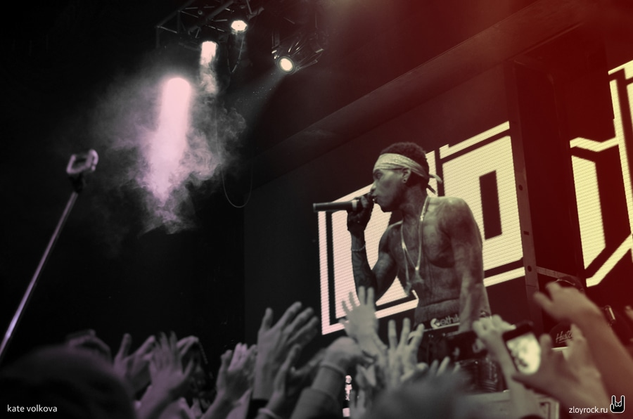 26 октября 2014. Kid Ink. Red. Репортаж