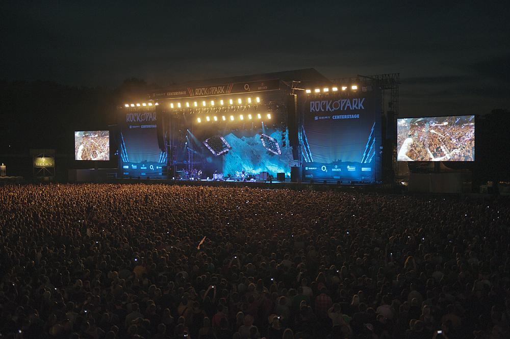 О летних европейских фестивалях: Rock im Park. Нюрнберг. Германия