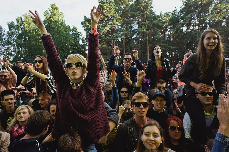 О летних европейских фестивалях: Positivus Festival 2013. Салацгрива. Латвия