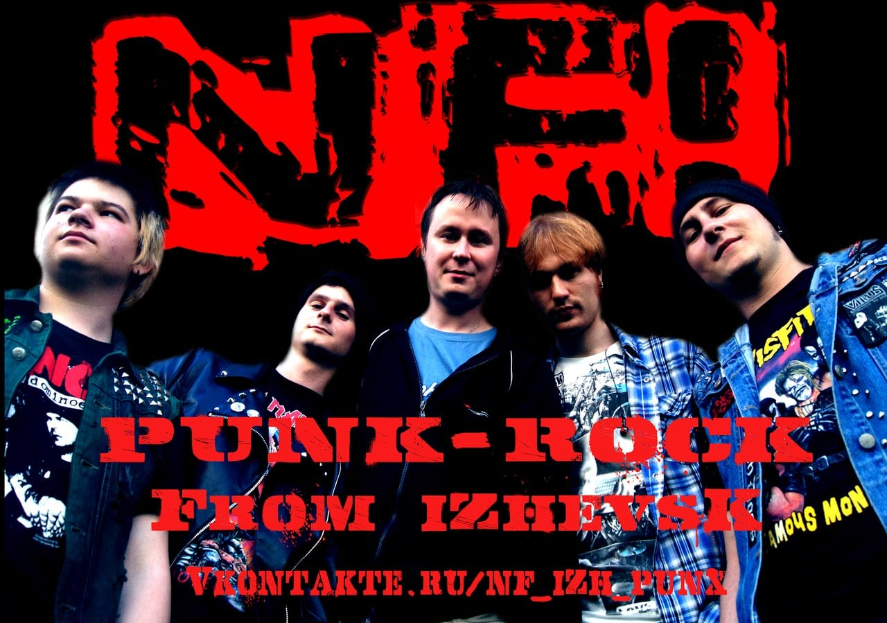 NF! Punk-Rock from Izhevsk