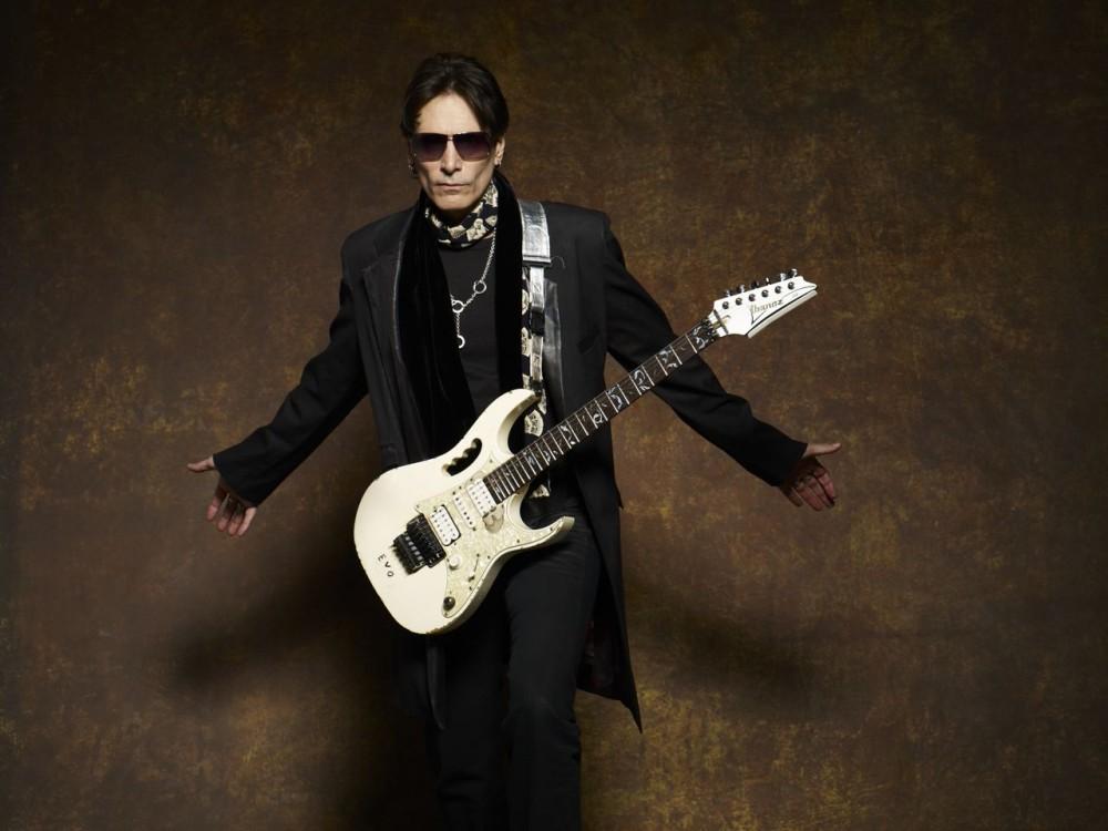 30 лет творческой карьеры. Легендарный гитарист Стив Вай (Steve Vai) в Москве