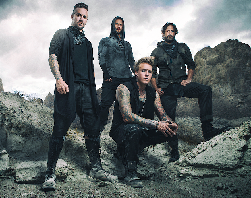 11 ноября 2014. Papa Roach. Ray Just Arena