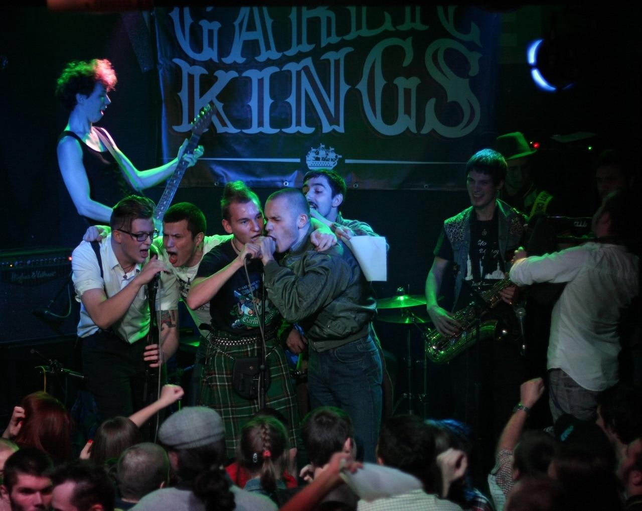 03 ноября 2014. Garlic Kings. Rock House
