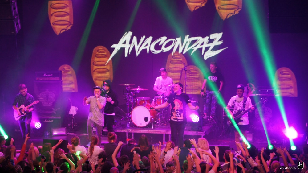 3 ноября 2015. Anacondaz. RED. Репортаж