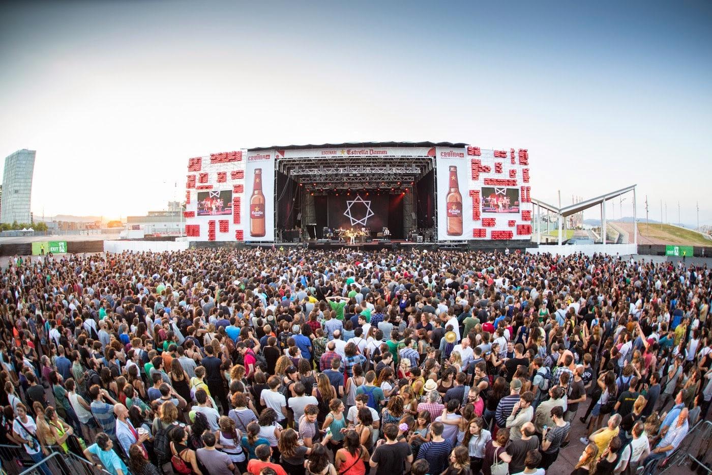 8-10 июня 2016. Cruilla Barcelona. Барселона